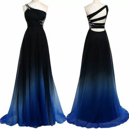Charming Prom Dress,One-Shoulder Pr..