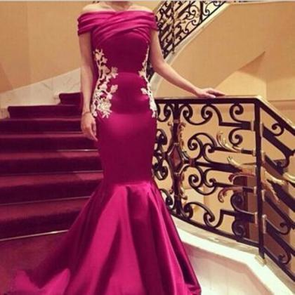 Prom Dress,Boat Neck Evening Dress,..