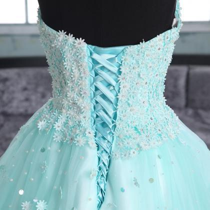 Sweetheart A-line High-low Prom Dre..