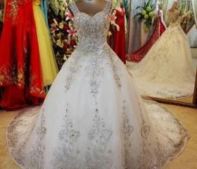 Luxury Beading White..