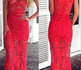 Simple Prom dress,S..