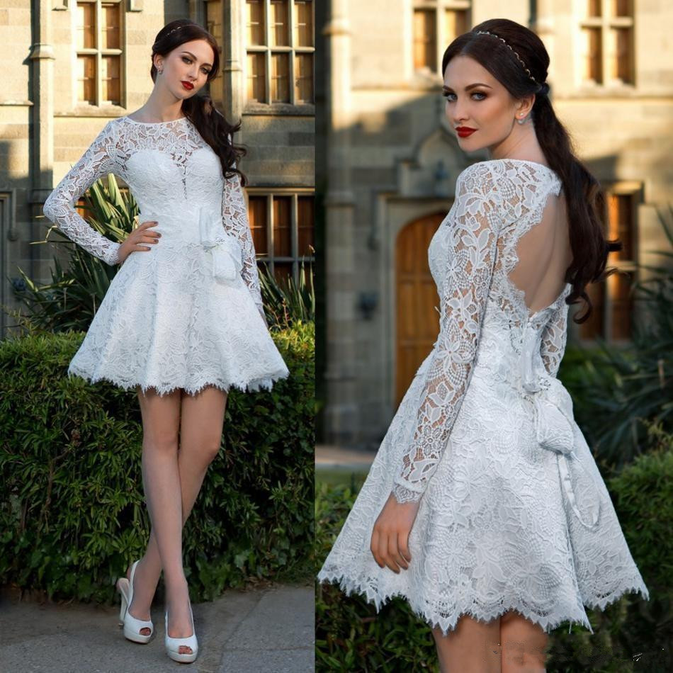 45f87cea7ae Lace Homecoming Dress