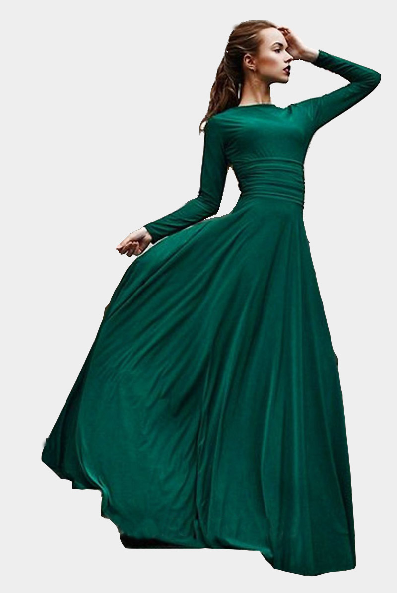 Dark Green Evening Dressesnew Womens Stylish Evening Prom Dress