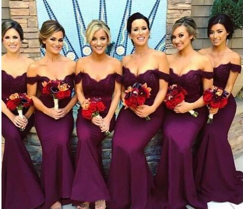 6a1ce4f17d4 New Grape Bridesmaid Dresses