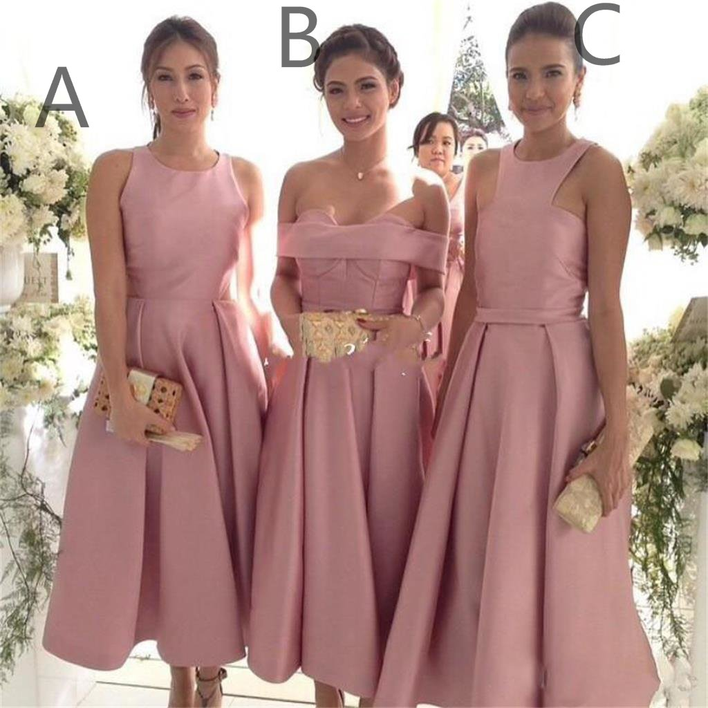 Charming Bridesmaid Dress Sexy A Line Dresses Wedding Party Gown