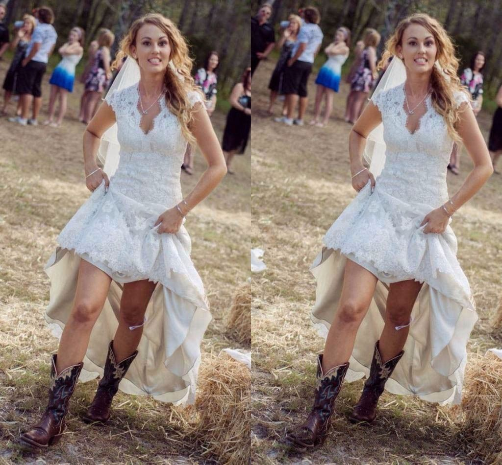 Sexy Country Style Wedding Dresses