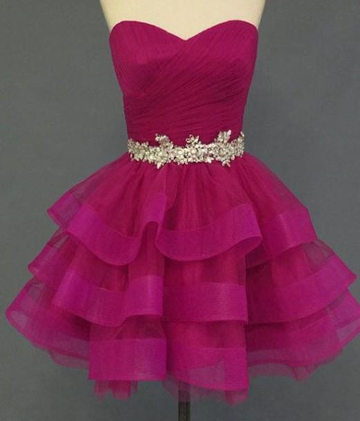 Charming Homecoming Dress Organza Homecoming Dress Sweetheart