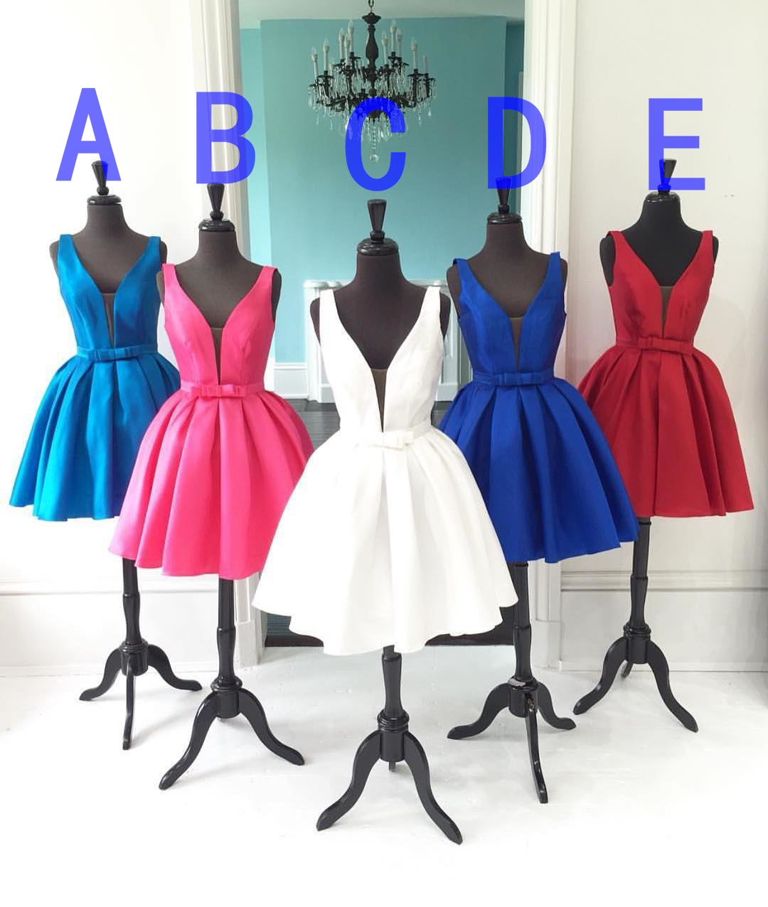 V-neck Homecoming Dress,Colorful Homecoming Dress,Junior Homecoming Dress, Sexy Homecoming Dress,Evening Dress, Homecoming Dress ,Prom Dress for Teens
