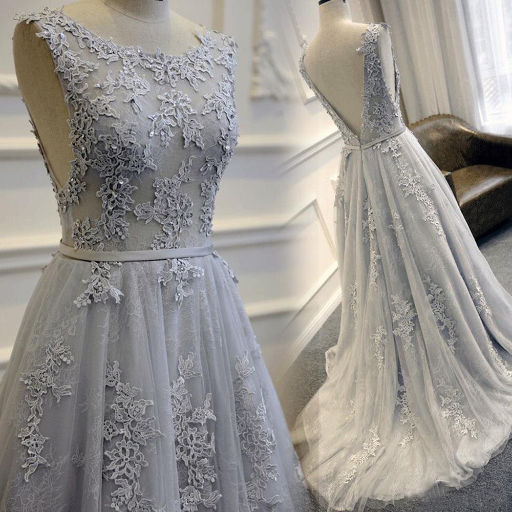 Prom dress gray long prom dresshigh quality prom dressprom dress prom dress gray long prom dresshigh quality prom dressprom dress 2017lace applique prom gownscharming evening dressformal prom dressformal dress ombrellifo Choice Image