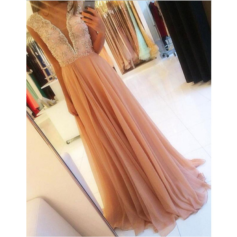 Formal Dress,Deep V Neckline Prom Dress Evening Party Gown ,Party Dress,Wedding Guest Prom Gowns, Formal Occasion Dresses,Formal Dress
