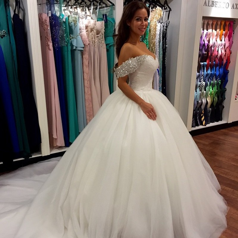 Sexy elegant wedding dress