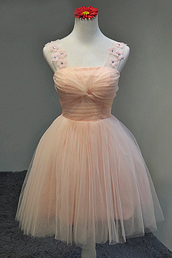 Homecoming Dress,Tulle Homecoming Dresses,Short Prom Dress,Prom Gown