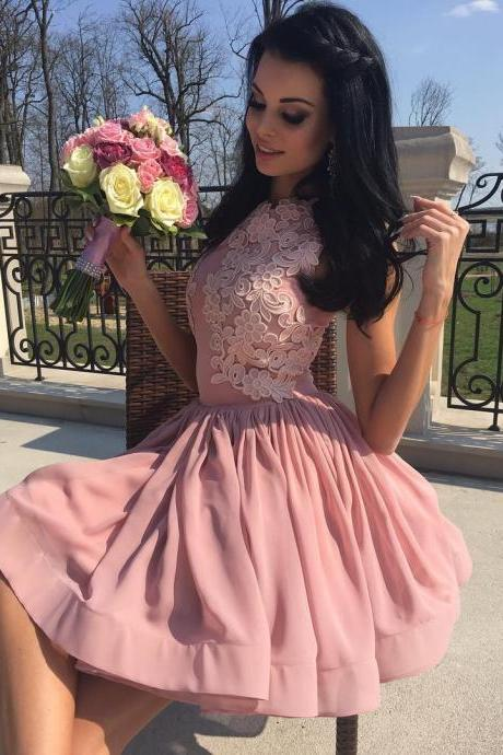 Appliques Homecoming Dresses,Party Dresses,Cheap homecoming dresses