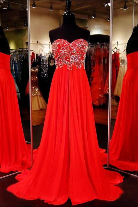 Red Prom Dress,Formal Dress,Prom Dress Empire Waist,Prom Gown,Prom Dress Long,Homecoming Dress Long, 8th Grade Prom Dress,Holiday Dress,Evening Dress Red, Long Evening Dress,Graduation Dress, Cocktail Dress, Party Dress