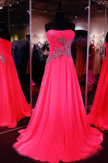Hot Pink Prom Dress,Formal Dress,Prom Dress Sweetheart,Prom Gown,Prom Dress Long,Homecoming Dress Long, 8th Grade Prom Dress,Holiday Dress,Evening Dress Hot Pink, Long Evening Dress,Graduation Dress, Cocktail Dress, Party Dress