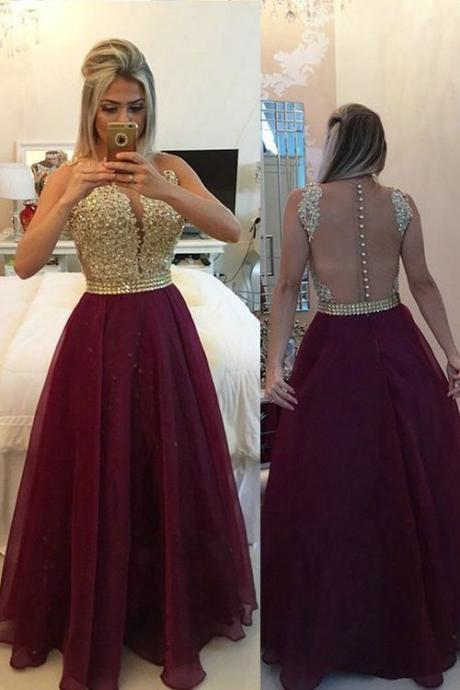 Burgundy Prom Dress,Burgundy Prom Dresses,Fashion Prom Dress,Sexy Party Dress,Backless Evening Dress,Long Prom Dress,Lace Prom Dress
