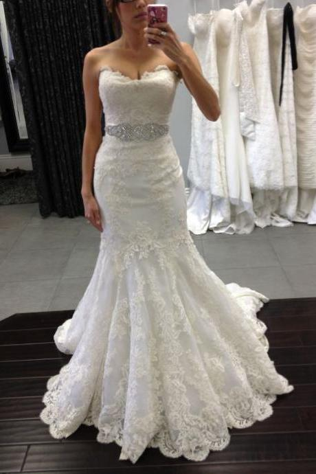 Wedding Dress,Wedding Dresses,Strapless Wedding Dresses
