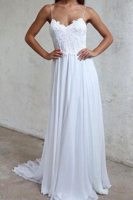 Wedding Dress,Bridal Dresses,Lace Wedding Dresses,Beach Wedding Dresses