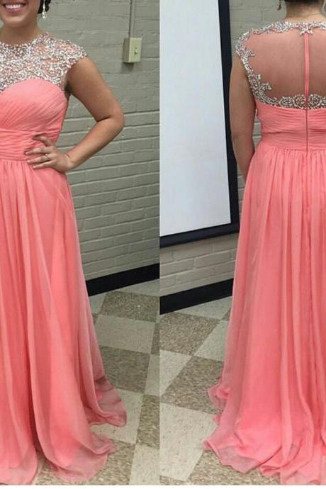 Chiffon Prom Dress,Long Evening Dress, Formal Dress,Prom Party Dress,Wedding Guest Prom Gowns, Formal Occasion Dresses,Formal Dress