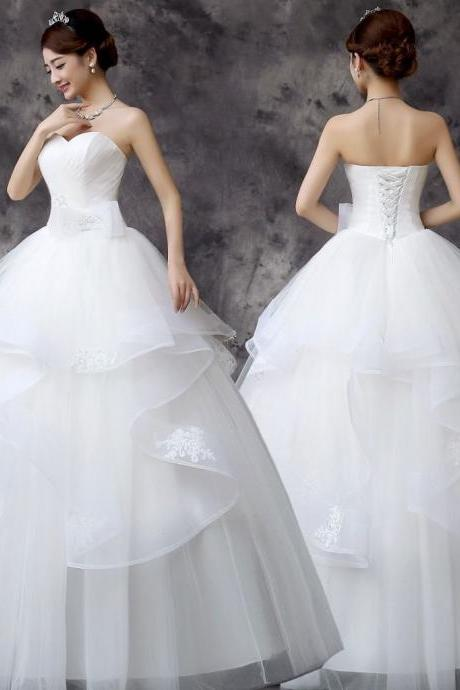 organza wedding dresses, Ball Gown Wedding Dresses Custom Size,Grace Vintage for Bride Formal Women Lace Wedding Dresses,Custom lace wedding dress wedding gown with beautiful white/ivory wedding dress Elegant Wedding Dress mermaid Wedding Dress Lace Wedding Dress , Sexy Bridal Dresses, 2017 Wedding Dresses, Arabic Bridal Dresses, Said Mhamad Wedding Gown,custom wedding dresses