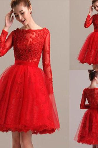 sweetheart lace wedding dresses ,red short Wedding Dresses ,Custom Size,Custom lace wedding dress wedding gown with beautiful white/ivory wedding dress Elegant Wedding Dress mermaid Wedding Dress ,Lace Long sleeve Wedding Dress , Sexy Bridal Dresses, 2017 Wedding Dresses, Arabic Bridal Dresses, Said Mhamad Wedding Gown,custom wedding dresses