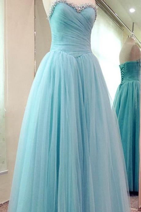 New Light blue chiffon Prom Dresses ,sexy Prom Dress , 2016 prom dress , long prom dress,girls party dress, sexy prom Dresses,homecoming dress , 2016 cheap long sexy prom dress .