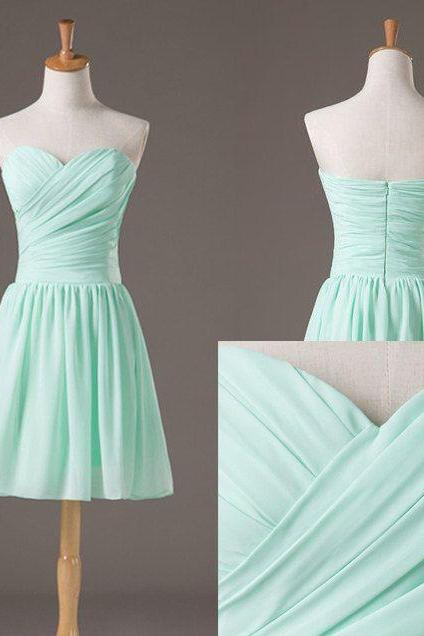 Backless Pretty and Cute Mint Short Simple Prom Dresses 2016, Simple Short Prom Dresses, Graduation Dresses, Evening Dresses, Homecoming Dresses,custom dresses