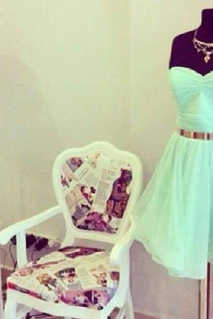 New sesy prom dresses. Sweet Mint Green Knee Length Chiffon Prom Dresses, Mint Green Evening Dress, Occasion Dresses, Evening Dresses, Evening Gown, Formal Gowns,custom dresses