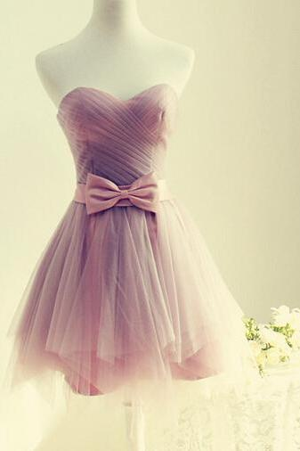 Handmade Cute Short Tulle Sweetheart Homecoming Dresses, Short Prom Dresses, Homecoming Dresses, Graduation Dresses, Formal Dresses, Party Dresses, Evening Gown, Formal Gowns,custom dresses