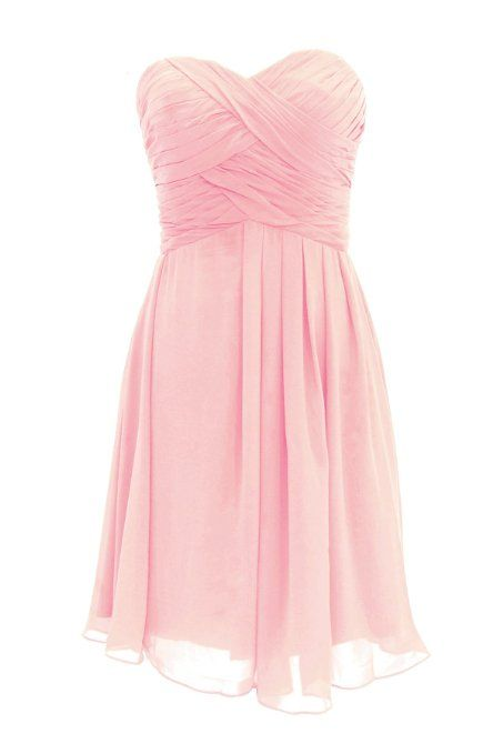 Pretty Light Pink Short Sweet 16 Dresses, Sweet Short Graduation Dresses, CHIFFON Homecoming Dresses, Formal Dresses, Party Dresses,Elegant Homecoming Dresses,Short Party Dresses