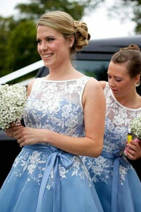 Bridesmaid Dress, Short Lace Bridesmaid Dresses, Short tulle Bridesmaid Dresses Floor Length