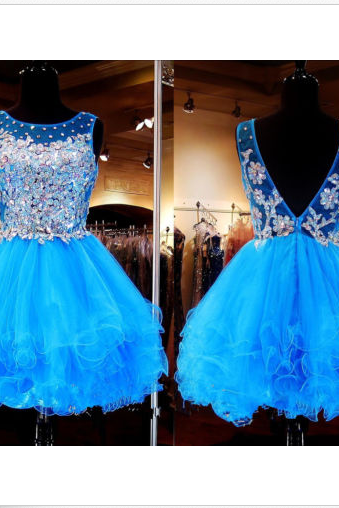 party dress,Short Party Dresses, Homecoming Dress, Beading Dress, Short Party Dress, Women Dress