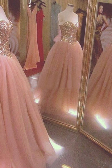 Graduation Dress, Sweetheart Quinceanera Dress, Crystal Graduation Dresses, Tulle Quinceanera Dress, Party Dresses, Sexy Graduation Dress, Attractive Quinceanera Dress, 2016 Quinceanera Dress
