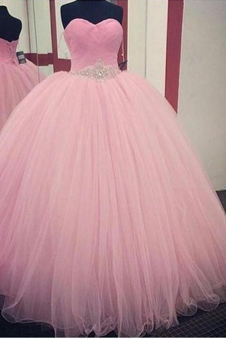 Pink Wedding Dresses, Cheap Real Image A-LINE Green Sweetheart Wedding Dress, Appliques Lace Up Formal Evening Party Gowns robes de bal