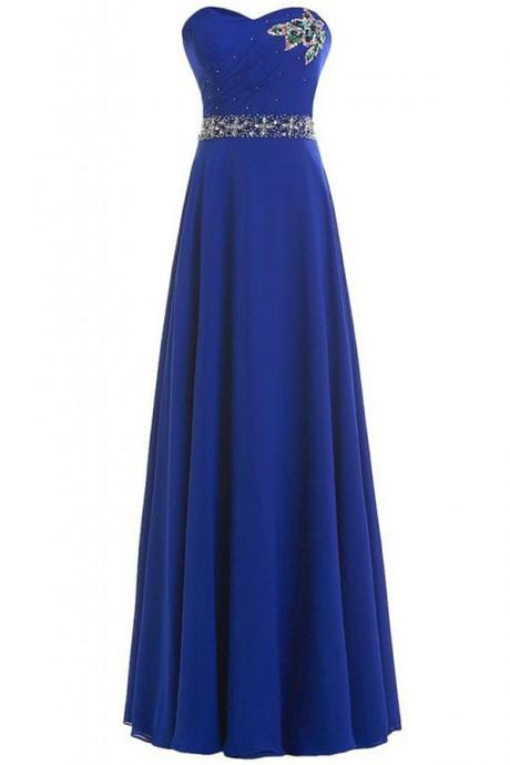 Formal Dress, Prom Gown,Royal blue Prom Dresses,Evening Gowns,Formal Dresses,Royal blue Prom Dresses,Formal Dress