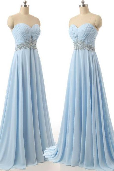 Formal Dress, Sweetheart Prom Dress,Sexy Prom Dress,Long Prom Dress,Chiffon Evening Dress,A line Eveing Gowns,Party Dress,Custom Made Prom Gowns,Prom Evening Dress,Formal Dresses,Beading Evening Dress,Charming Evening Gowns,Formal Dress