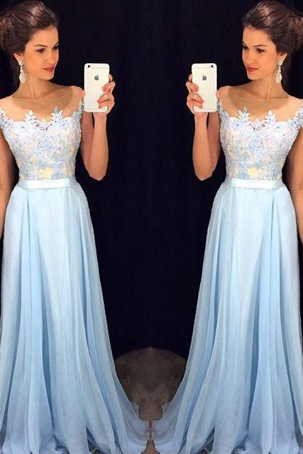 High Quality Prom Dress,chiffon prom dress,A-Line Prom Dress,Charming Prom Dress,Appliques Prom Dress,Wedding Guest Prom Gowns, Formal Occasion Dresses,Formal Dress