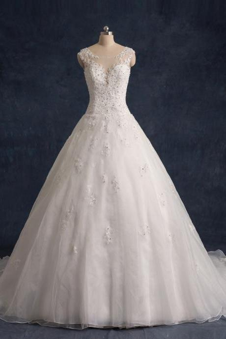 Wedding dress,Ball Gown Wedding Dresses,Bridal dress,Wedding Guest Prom Gowns, Formal Occasion Dresses,Formal Dress