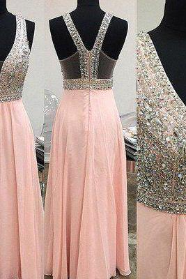 Prom Dress,Custom Made Pink Prom Dresses,Charming Prom Dresses,unique Prom Dress,Long Prom Dress, 2017 Prom Dress,High Quality,Elegant Evening Dress,Party Dress,Wedding Guest Prom Gowns, Formal Occasion Dresses,Formal Dress