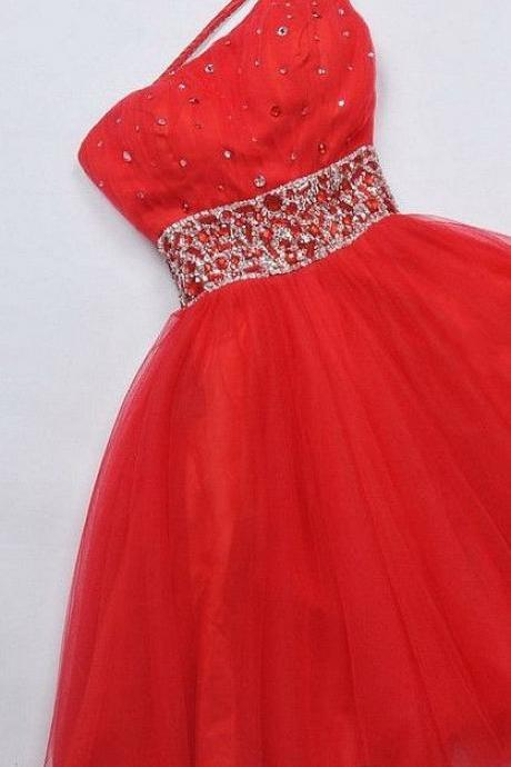 Short Homecoming Dress,red tulle Homecoming Dress,cute Homecoming Dresses,Short Prom Dress,Party Dress,Wedding Guest Prom Gowns, Formal Occasion Dresses,Formal Dress
