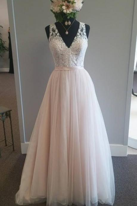 Wedding Dress,Sexy Wedding Dresses,Wedding Dress,bridal Dress, New Arrival Long Prom Dress,Sexy V Neck Prom Dresses,Tulle Evening Dresses,Formal Evening GownWedding Guest Prom Gowns, Formal Occasion Dresses,Formal Dress