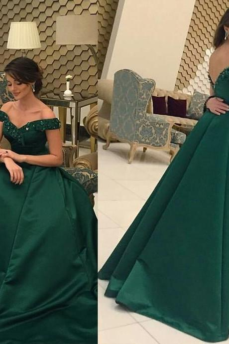 Prom Dress, Dark Green Prom Dress,Long Prom Dresses,Charming Prom Dresses,Evening Dress, Prom Gowns, Formal Women Dress,prom dress,Wedding Guest Prom Gowns, Formal Occasion Dresses,Formal Dress