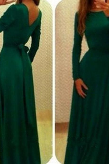 Dark Green Prom Dress,Bodice Prom Dress,Maxi Prom Dress,Fashion Prom Dress,Sexy Party Dress, 2017 New Evening DressEs,Wedding Guest Prom Gowns, Formal Occasion Dresses,Formal Dress