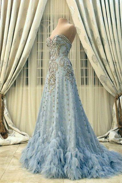 Wedding Dress, Evening Dresses, Prom Dresses,Party Dresses,New Arrival Bridal Dress,Modest Prom Dress,Flower wedding dress,blue wedding dress,blue wedding dress,wedding dress,Floor-length Prom Dresses,Wedding Guest Prom Gowns, Formal Occasion Dresses,Formal Dress