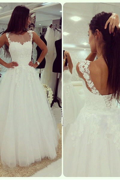 Wedding Dress,White Lace Wedding Dress,High Neck Off the Shoulder Wedding Dresses With Lace Back Up,High Quality Lace Bridal Wedding Dress,Custom Made Open Back Wedding Gowns,Beach Bridal Gowns,Floor-length Prom Dresses,Wedding Guest Prom Gowns, Formal Occasion Dresses,Formal Dress
