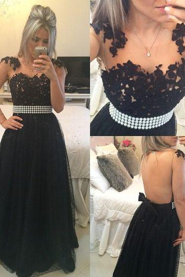 Prom Dress,Charming Prom Dress,Sexy Sleeveless Black Prom Dress, Long Evening Dress, Formal Gowns ,Floor-length Prom Dresses,Wedding Guest Prom Gowns, Formal Occasion Dresses,Formal Dress