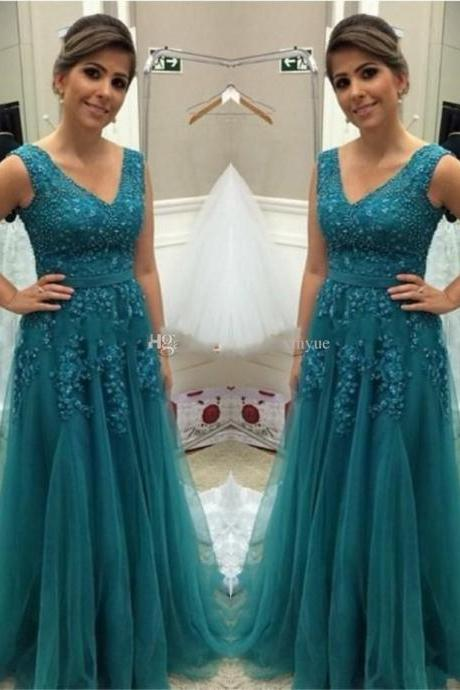 Prom Dress,New Arrival Sleeveless Evening Dress,Appliques Evening Dress,Sexy tulle Prom Dresses,Formal Gowns,Floor-length Prom Dresses,Wedding Guest Prom Gowns, Formal Occasion Dresses,Formal Dress