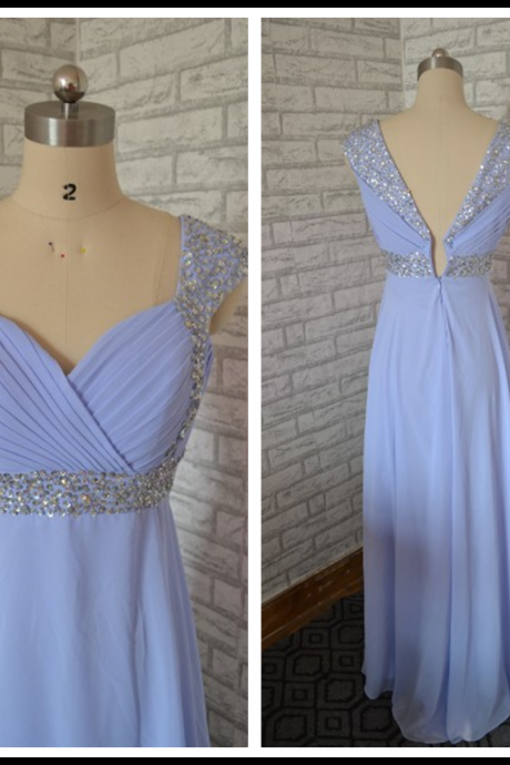 Prom Dress,New Cheap homecoming dresses,chiffon homecoming dresses,blue homecoming dresses,long homecoming dress,beaded homecoming dresses,Floor-length Prom Dresses,Wedding Guest Prom Gowns, Formal Occasion Dresses,Formal Dress