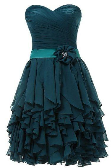 Homecoming Dress,Custom Dark Green Prom Dress, Short Prom Dresses,Cheap Prom Dress, Chiffon Prom Dress, Prom Gowns, Prom Dress Short,Homecoming Dress, Homecoming Dresses On Sale, Cocktail Dress, Party Dresss,Wedding Guest Prom Gowns, Formal Occasion Dresses,Formal Dress
