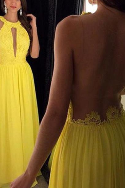 Prom Dress, New Cheap Illusion Prom Dress, Illusion Evening Dresses,Yellow Evening Dress, Yellow Prom Dress, Prom Gowns, Chiffon Prom Dress,Formal Dress, Homecoming Dresses, Graduation Dress, Party Dress,Graduation Dresses,Wedding Guest Prom Gowns, Formal Occasion Dresses,Formal Dress